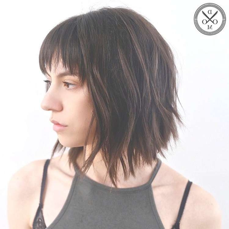 Medium Length Haircuts For Thick Hair In Most Recent Medium Haircuts For Thick Wavy Hair (View 21 of 25)