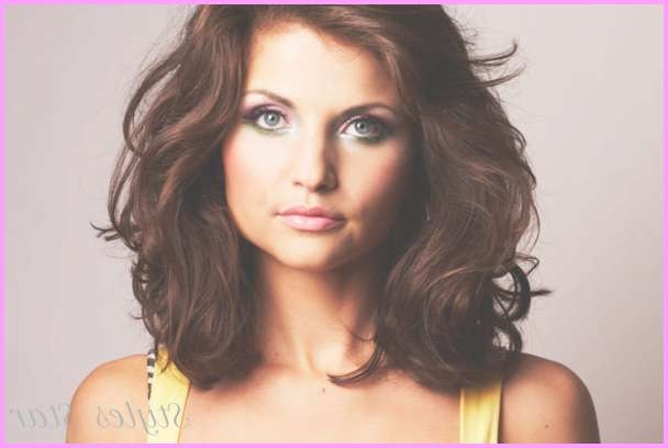 Medium Length Haircuts Thick Wavy Hair – Stylesstar ® Throughout Most Recent Medium Haircuts For Wavy Thick Hair (View 16 of 25)