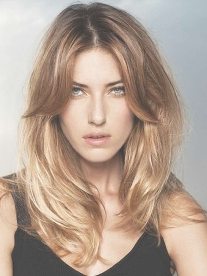 Medium Length Hairstyles 2017 Inside Most Current Medium Hairstyles With Long Bangs (View 5 of 25)