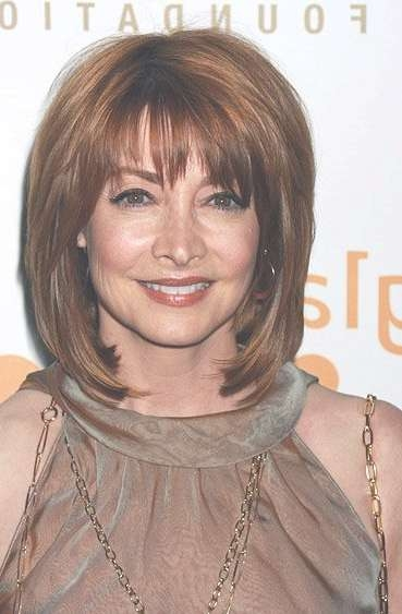 Medium Length Hairstyles : 8 Nice Medium Length Hair Styles For Intended For Recent Medium Haircuts For Older Ladies (View 4 of 25)