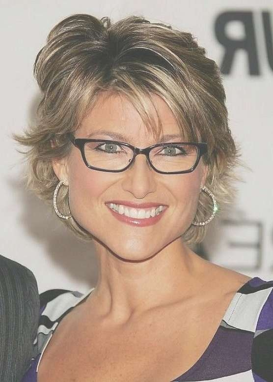 Explore Photos of Medium Hairstyles For Ladies With Glasses (Showing ...