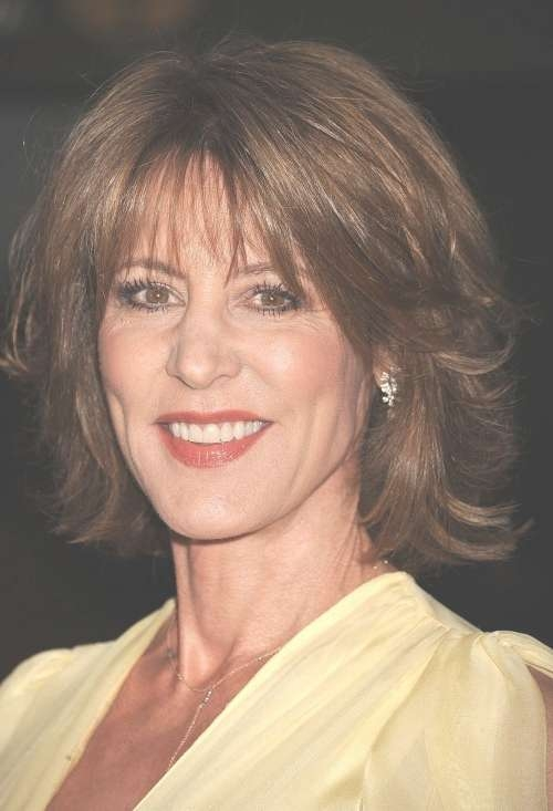 Medium Length Hairstyles For Older Women In Current Medium Haircuts For Older Ladies (View 2 of 25)