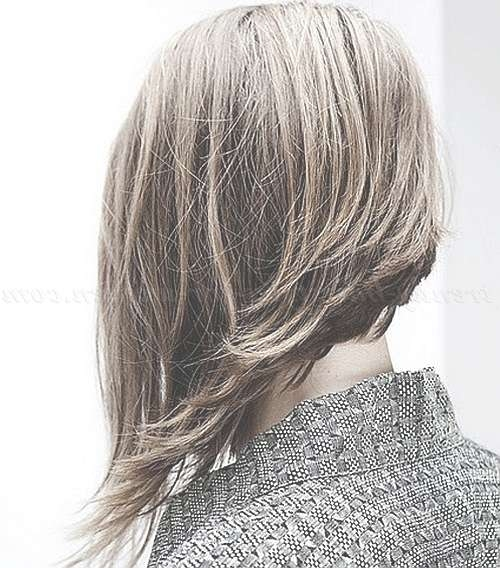 Medium Length Hairstyles For Straight Hair – Asymmetrical Bob Pertaining To Current Asymmetrical Medium Hairstyles (View 22 of 25)