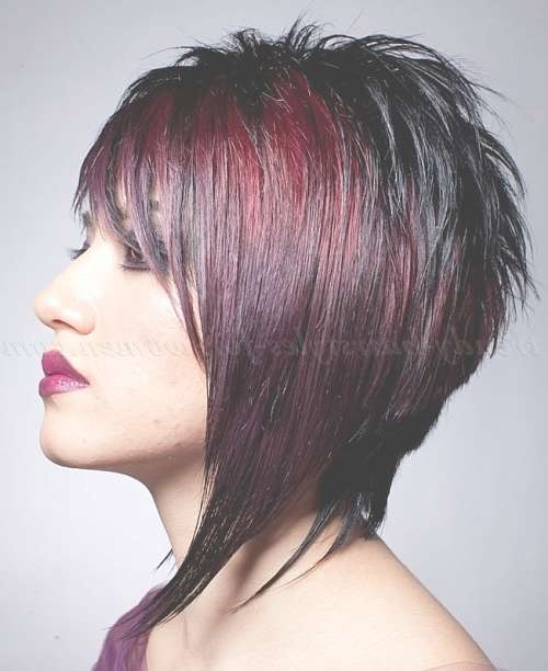 Medium Length Hairstyles For Straight Hair – Inverted Long Bob For Most Popular Inverted Medium Haircuts (View 24 of 25)