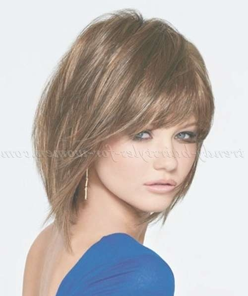 Medium Length Hairstyles For Straight Hair – Shoulder Length Bob Pertaining To Shoulder Bob Hairstyles (View 15 of 25)