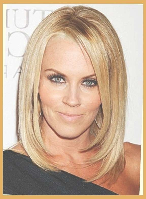 Medium Length Hairstyles For Women Over 40 | Med Length Haircuts With Current Medium Hairstyles For Women In Their 40S (View 7 of 15)