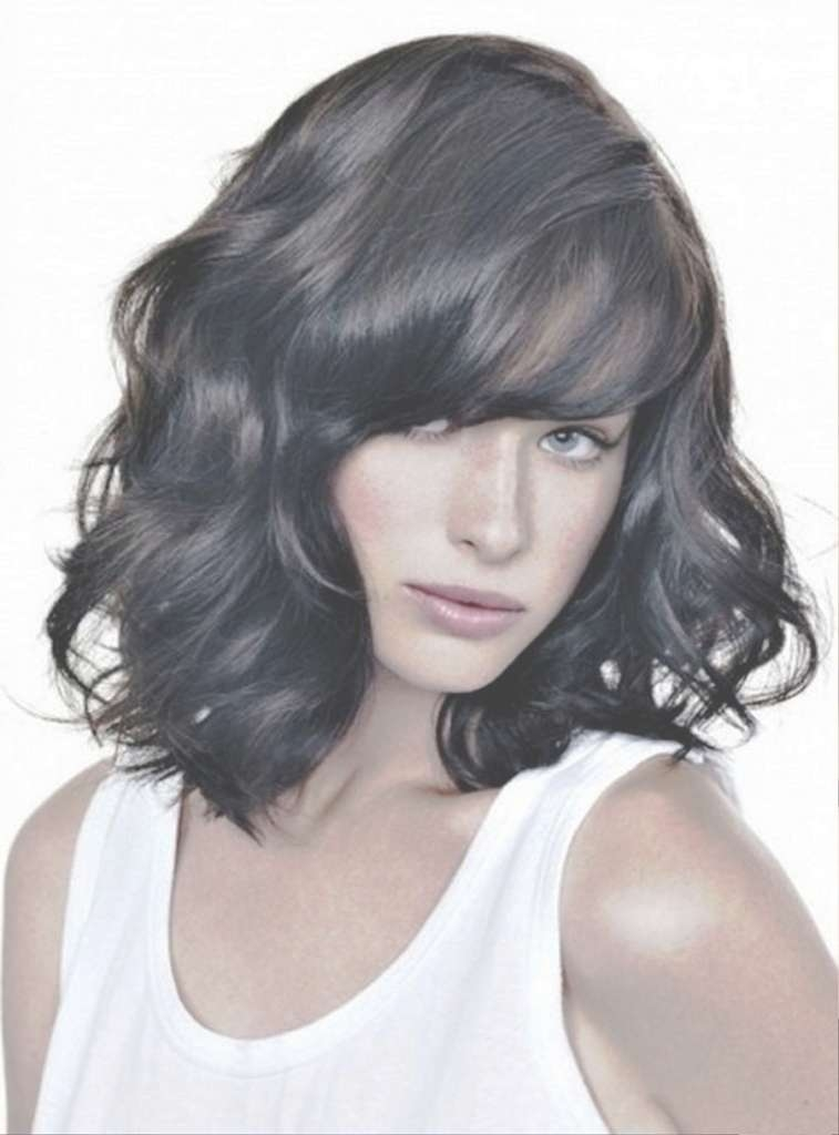 Medium Length Hairstyles Wavy Hair Medium Hairstyles For Thick With Regard To Recent Medium Haircuts For Thick Wavy Hair (View 17 of 25)
