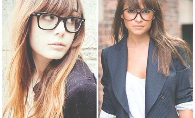 Medium Length Hairstyles With Bangs And Glasses: The World S Regarding Newest Medium Haircuts With Bangs And Glasses (View 8 of 25)