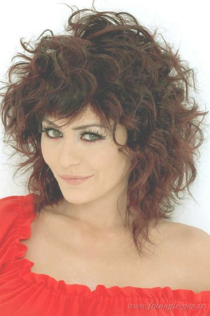Medium Length Layered Haircuts For Curly Hair Regarding Most Recently Medium Hairstyles With Layers And Curls (View 2 of 25)