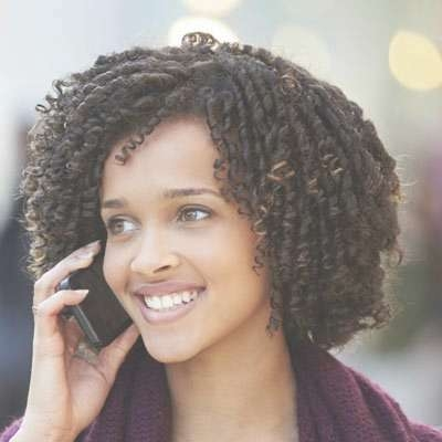 Medium Length Natural Hairstyles Regarding Best And Newest Medium Haircuts For Black Women Natural Hair (View 10 of 25)
