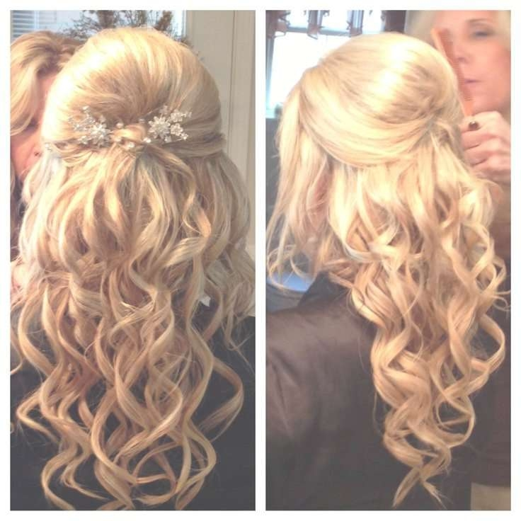 Medium Length Prom Hair Styles 2017 Inside Most Recently Down Medium Hairstyles (View 17 of 25)