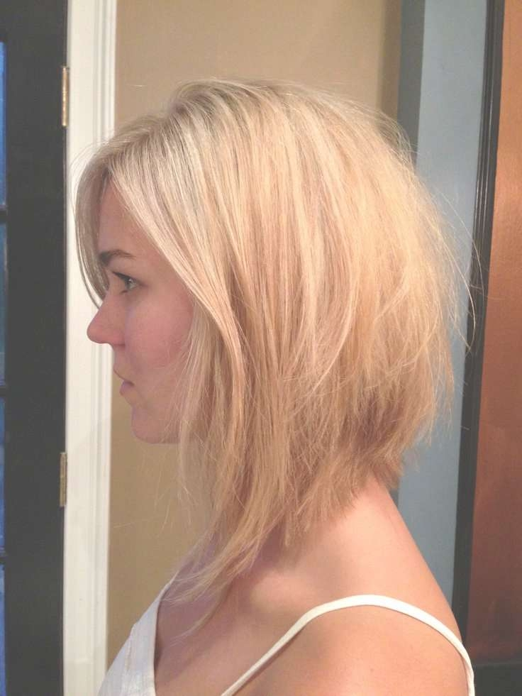 Medium Length Reverse Bob Haircut Pertaining To Current Simple Medium Haircuts For Round Faces (View 25 of 25)