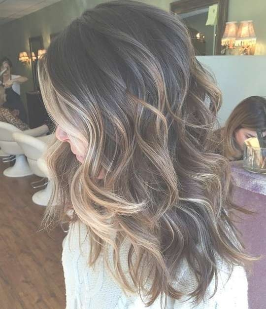 Medium Length Shoulder Ombre Hairstyles Intended For Most Recently Ombre Medium Hairstyles (View 17 of 25)