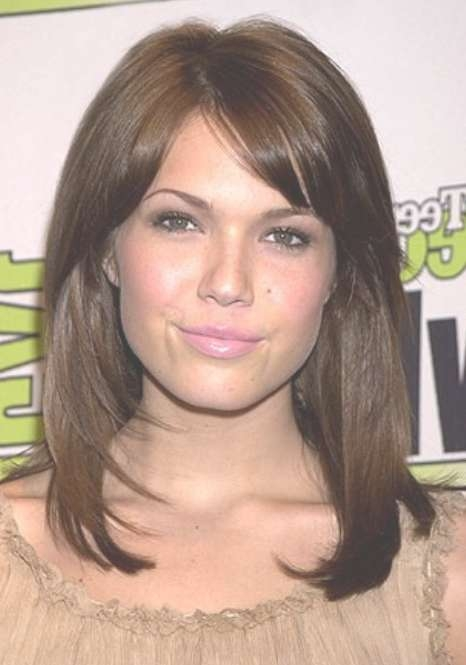 Medium Length Straight Hairstyle – Hairstyles Weekly Within Newest Medium Haircuts For Women With Straight Hair (View 10 of 25)