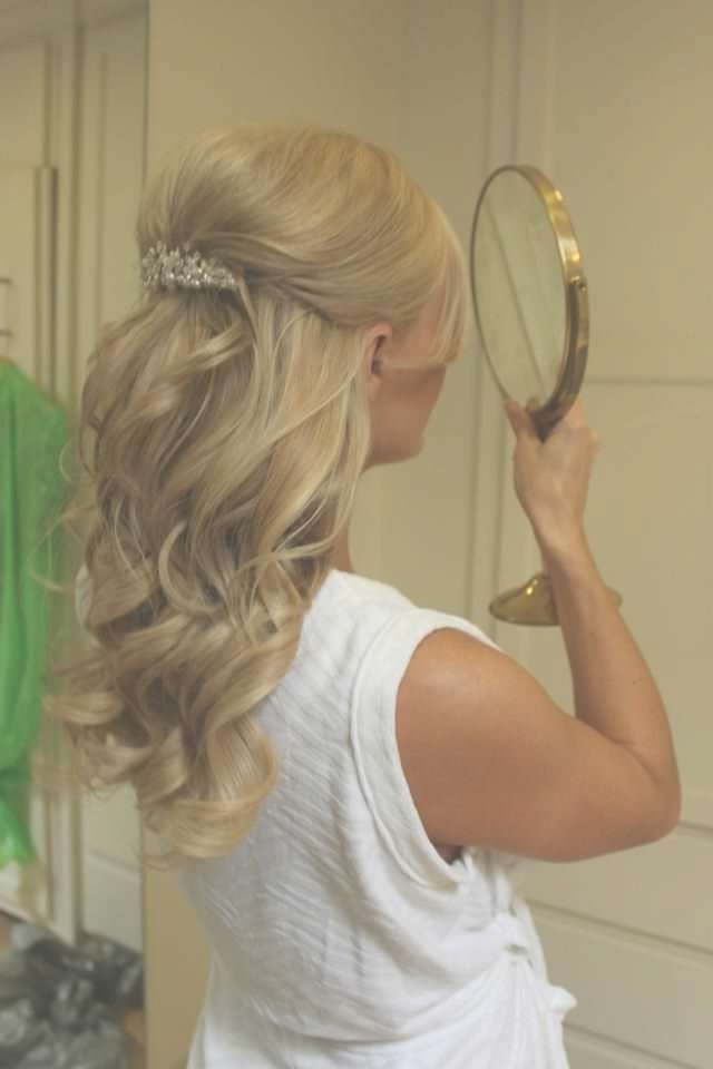 Medium Length Wedding Hairstyles 2013 Medium Length Wedding Inside Newest Medium Hairstyles For Weddings For Bridesmaids (View 15 of 15)