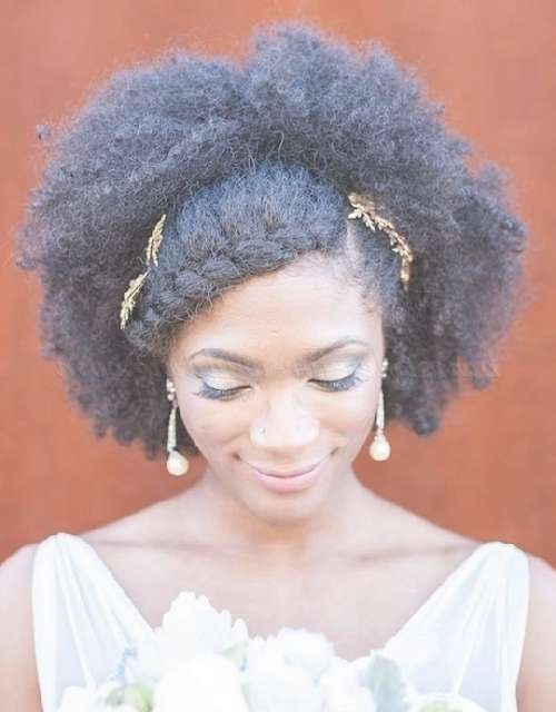 Medium Length Wedding Hairstyles For Natural Curly Hair – Medium For Most Recent Afro Medium Hairstyles (View 9 of 15)