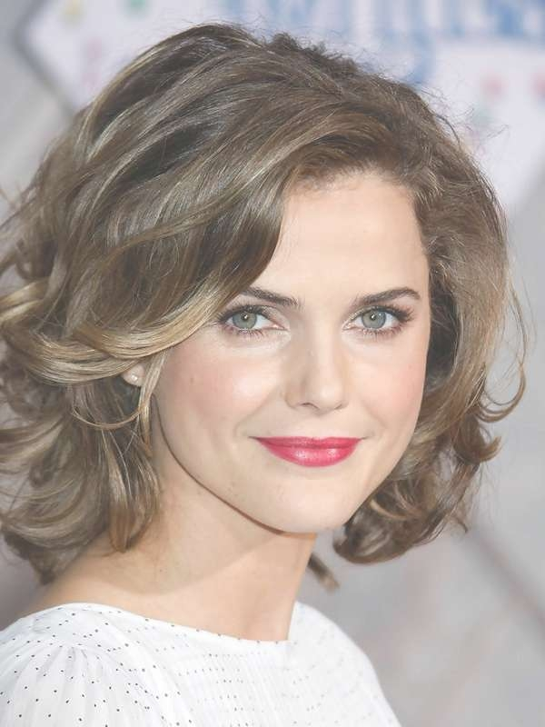 Medium Long Haircuts For Wavy Hair For Best And Newest Medium Haircuts For Wavy Frizzy Hair (View 3 of 25)