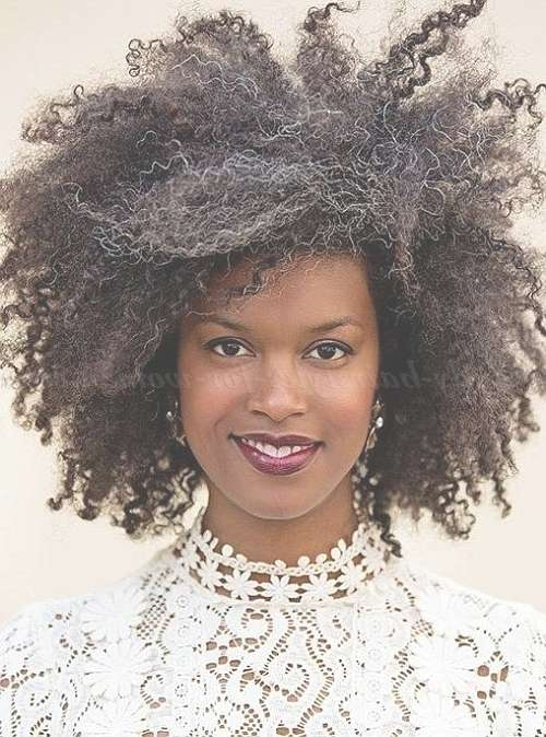 Medium Natural Curly – Medium Length Natural Curly Hairstyle Pertaining To Most Popular Afro Medium Hairstyles (View 13 of 15)