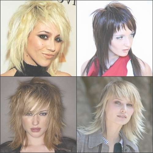 Medium Razored Layered Haircuts For Women Intended For Newest Razor Medium Haircuts (View 20 of 25)
