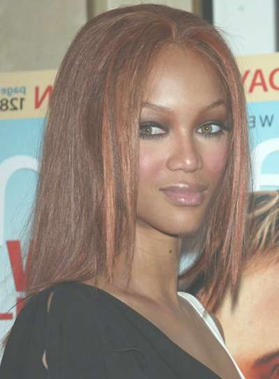 Medium, Red Hairstyles For Coarse Hair – Beauty Riot Intended For Best And Newest Tyra Banks Medium Hairstyles (View 6 of 15)