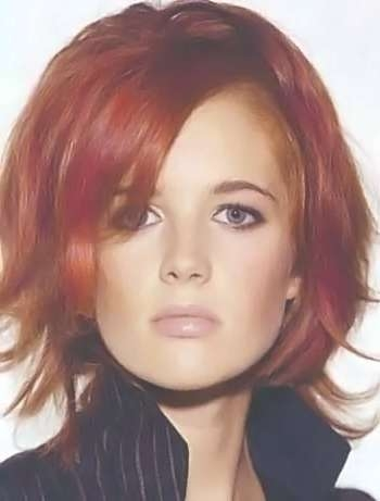 Medium Red Hairstyles Picture  (View 14 of 25)
