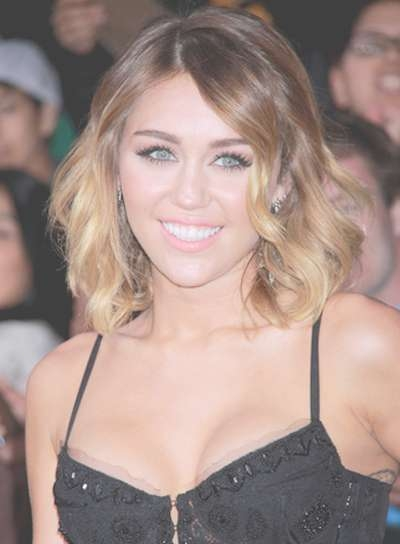 Medium, Sexy Bobs – Beauty Riot Intended For Best And Newest Miley Cyrus Medium Hairstyles (View 20 of 25)