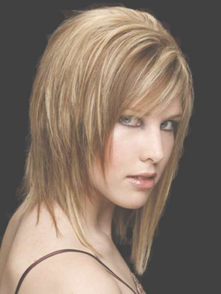 Medium Short Haircuts Thick Hair Archives – Best Haircut Style For Newest Medium Haircuts For Thick Straight Hair (View 19 of 25)