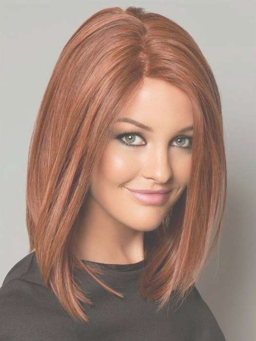 Medium Short Red Hairstyles With Regard To Current Red Medium Hairstyles (View 18 of 25)