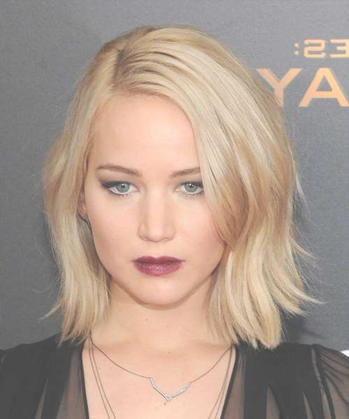 Medium Straight Casual | Thehairstyler In 2018 Jennifer Lawrence Medium Hairstyles (View 19 of 25)