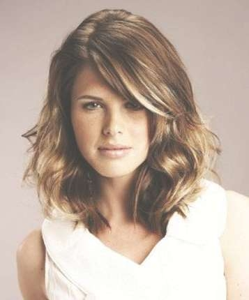 Medium Straight Hair Styles In Best And Newest Medium Haircuts For Straight Hair (View 25 of 25)