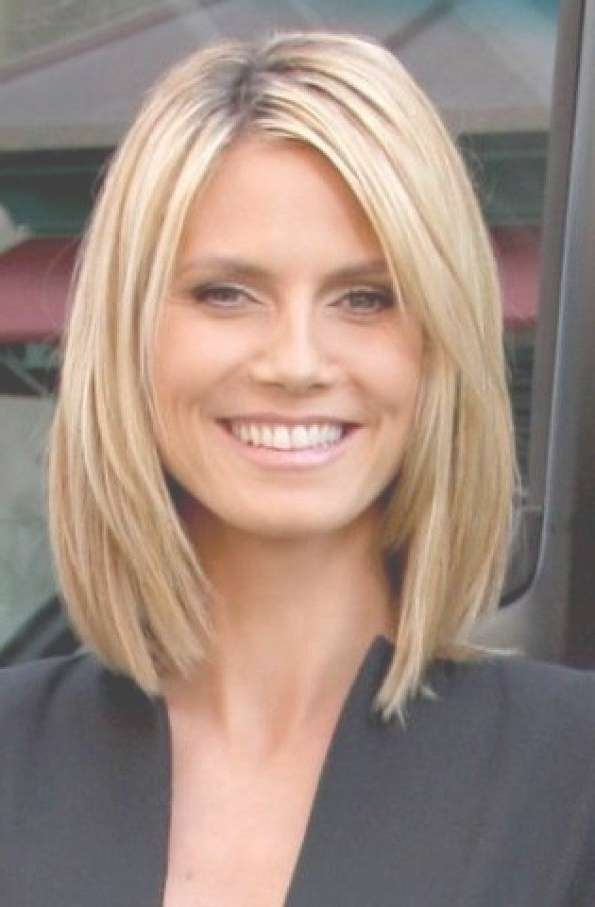 Explore Gallery Of Medium Haircuts For Thin Fine Hair Showing 14 Of