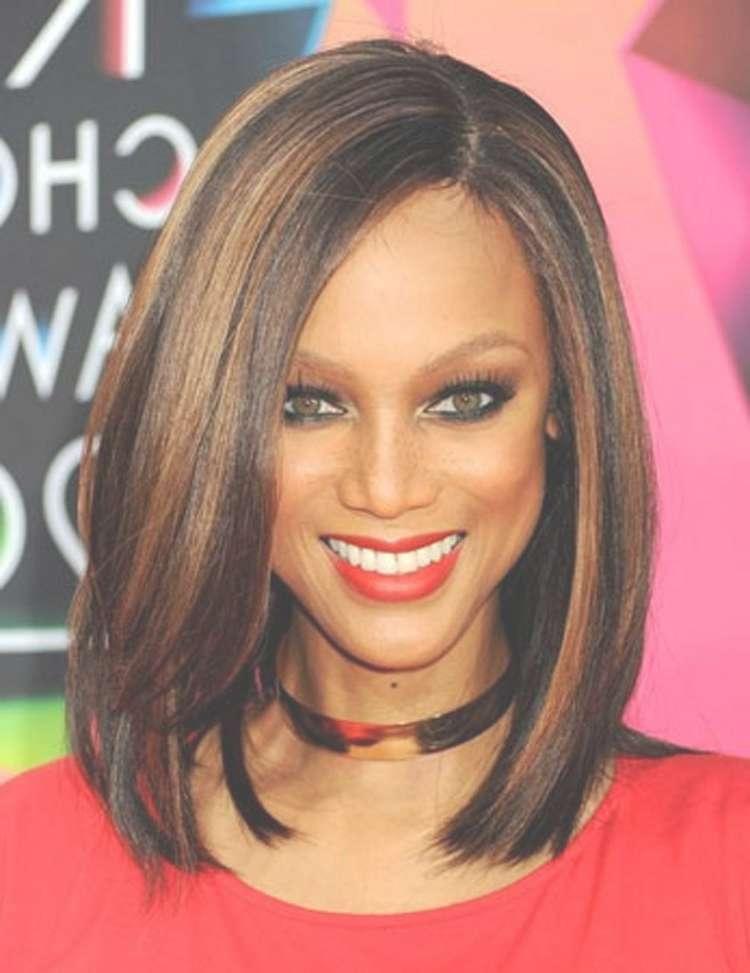 Medium Weave Hairstyles For Black Women | 2017 Medium Hairstyles Ideas With Regard To Newest Black Women Medium Haircuts (View 22 of 25)
