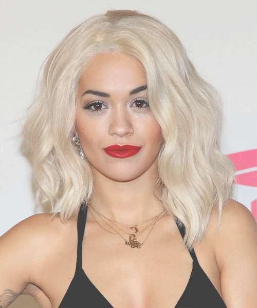 Mermaid Waves With Regard To Best And Newest Rita Ora Medium Hairstyles (View 6 of 15)