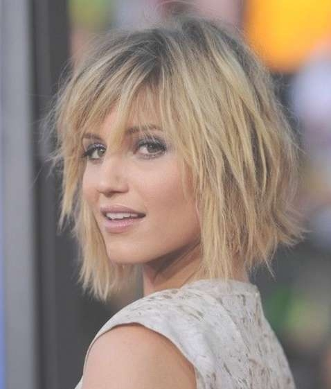 Messy Layered Haircuts For Medium Hair 2017 Regarding Best And Newest Messy Medium Haircuts For Women (View 22 of 25)