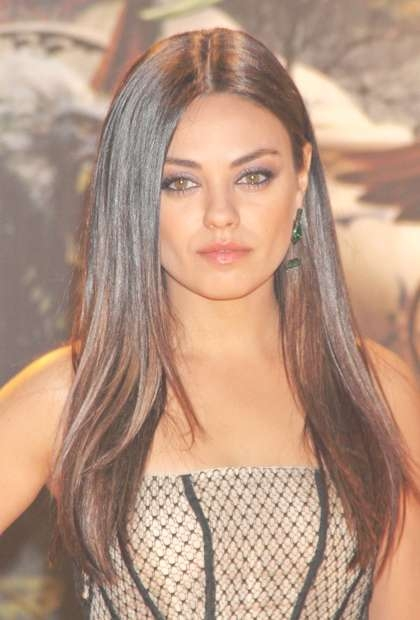 Mila Kunis , 7 Freshest Spring Haircuts Right Now – (Page 8) Regarding Most Up To Date Mila Kunis Medium Hairstyles (View 10 of 25)