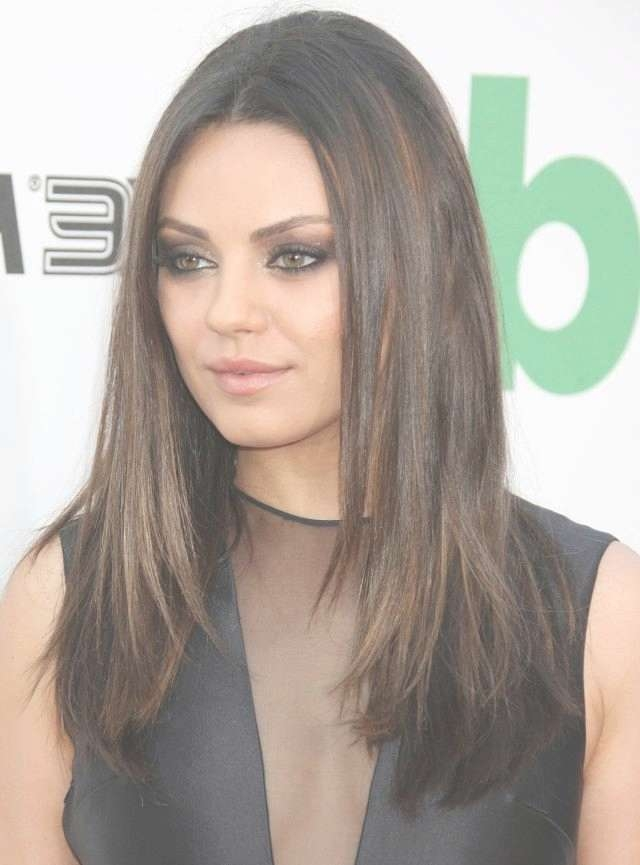 Mila Kunis Hairstyles 2016 Pictures – Hairstyle Intended For Most Popular Mila Kunis Medium Hairstyles (View 9 of 25)