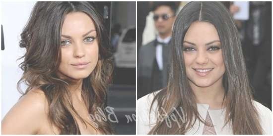Mila Kunis Ombre Hair Archives – Vpfashion Vpfashion With Most Recent Mila Kunis Medium Hairstyles (View 22 of 25)