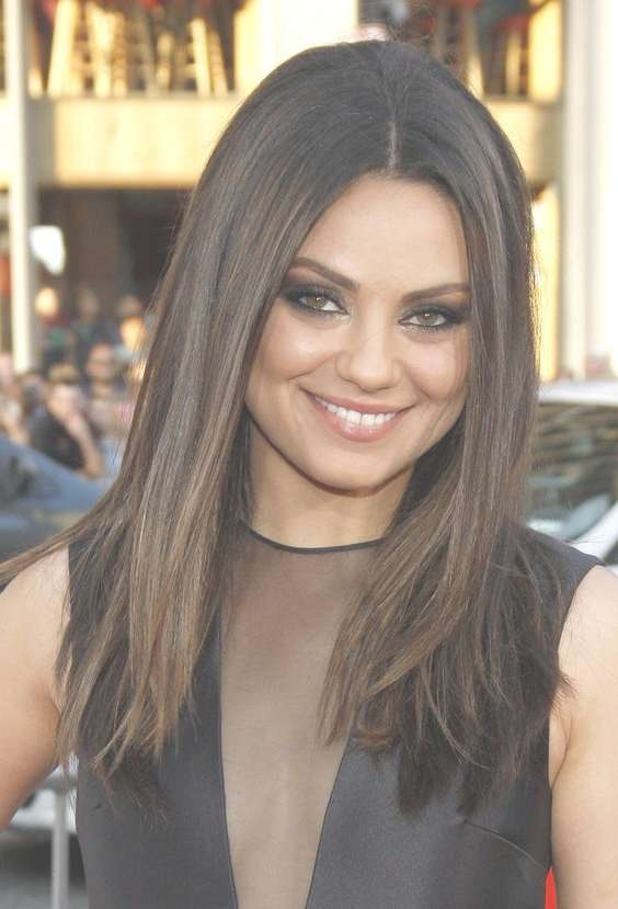 Mila Kunis Wants A Family Soon | Mila Kunis Hair, Mila Kunis And With Most Current Mila Kunis Medium Hairstyles (View 5 of 25)