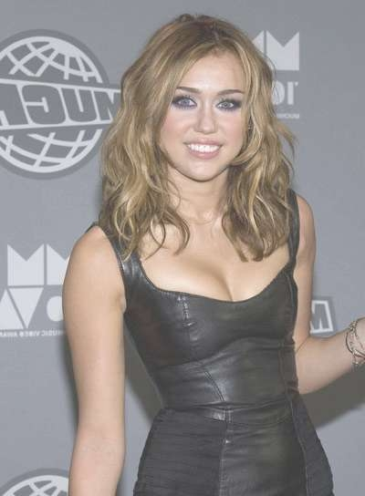 Miley Cyrus – Beauty Riot Throughout Most Recently Medium Haircuts Like Miley Cyrus (View 17 of 25)