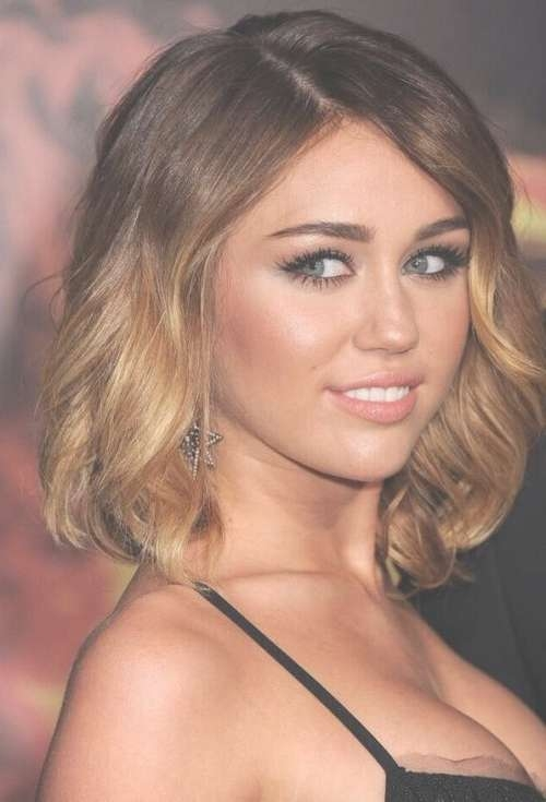 Miley Cyrus Diverse Short Hairstyles For Spring 2015 | Hairstyles Pertaining To Best And Newest Medium Hairstyles For Spring (View 14 of 15)