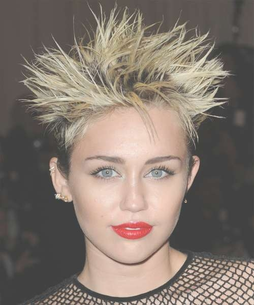 Miley Cyrus Hair Stylesmiley Cyrus Short Straight Alternative For Current Medium Haircuts Like Miley Cyrus (View 22 of 25)