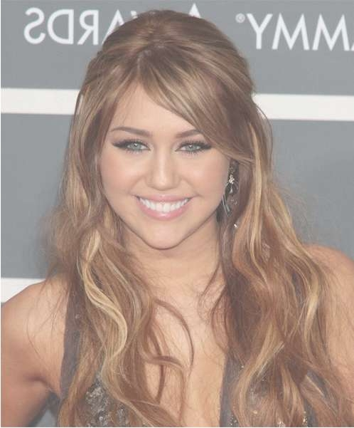 Miley Cyrus Long Hairstyles 2012 – Popular Haircuts Within Most Up To Date Miley Cyrus Medium Hairstyles (View 18 of 25)