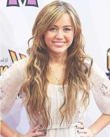 Miley Cyrus Long Hairstyles – Popular Haircuts Within Most Current Layered Long Haircut Styles (View 18 of 25)