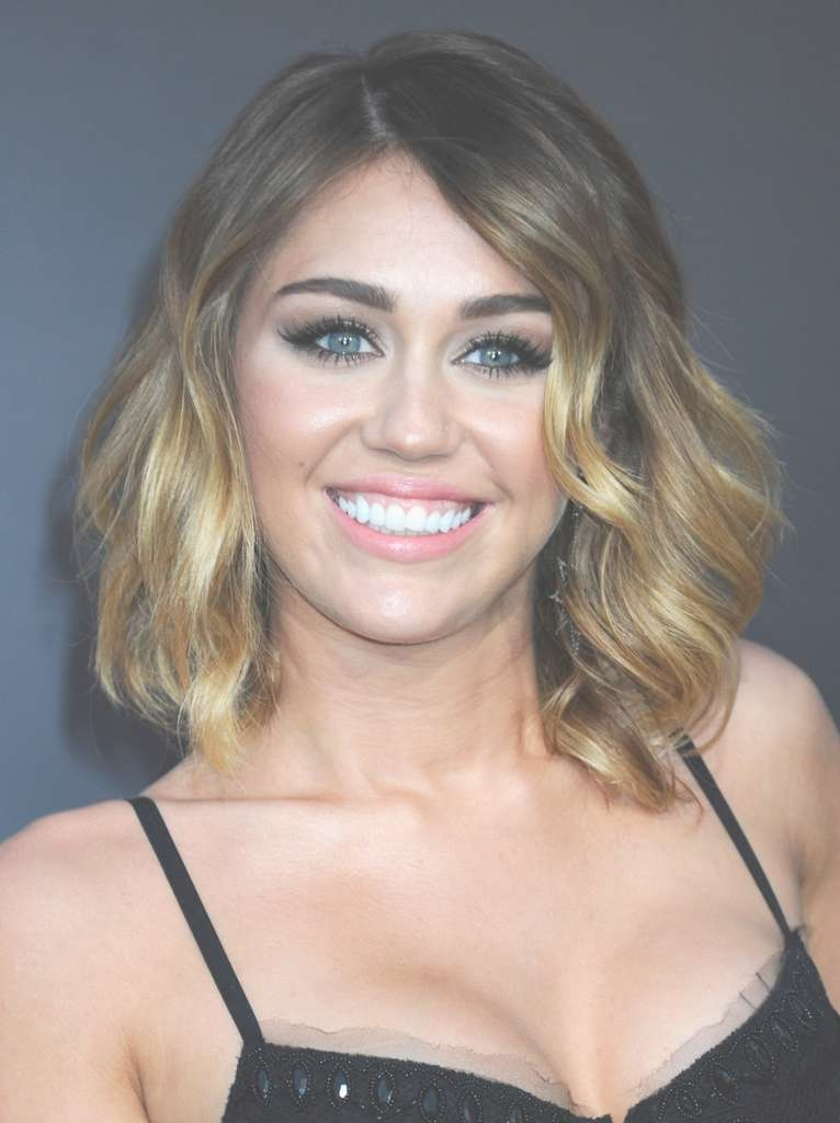 Miley Cyrus Shoulder Length Hairstyles – Miley Cyrus Hair In Most Recently Miley Cyrus Medium Hairstyles (View 3 of 25)