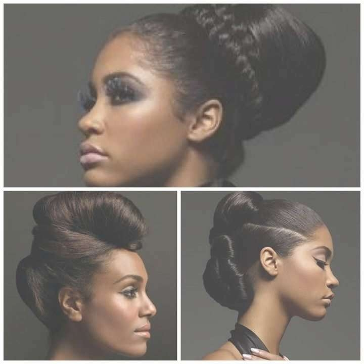 Min Hairstyles For Protective Hairstyles For Relaxed Hair Best Inside Recent Medium Haircuts For Relaxed Hair (View 19 of 25)