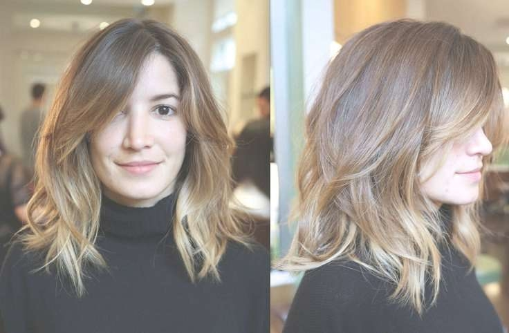 Model Hairstyles For Medium Length Ombre Hairstyles Mid Length Inside Best And Newest Ombre Medium Hairstyles (View 21 of 25)