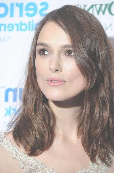 More Pics Of Keira Knightley Medium Wavy Cut (14 Of 17) – Shoulder In Most Up To Date Keira Knightley Medium Hairstyles (View 5 of 15)