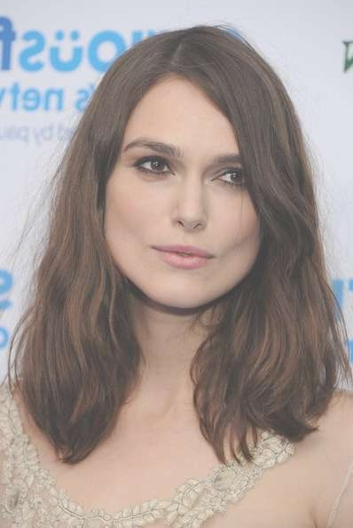 More Pics Of Keira Knightley Medium Wavy Cut (15 Of 17) – Shoulder Throughout Most Current Keira Knightley Medium Hairstyles (View 7 of 15)