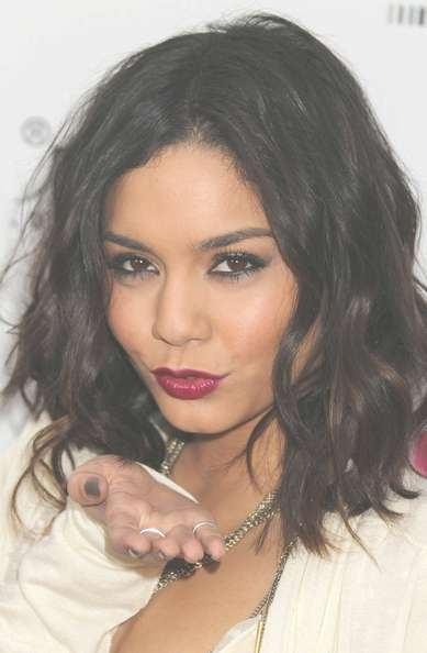 More Pics Of Vanessa Hudgens Medium Curls (4 Of 8) – Shoulder Intended For Recent Vanessa Hudgens Medium Hairstyles (View 22 of 25)