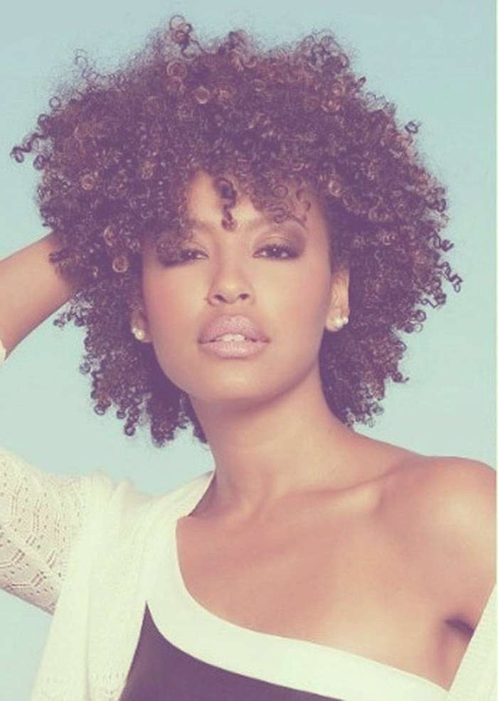 Most Adorable Ideas Of Black Natural Curly Hairstyles Within Recent Medium Haircuts For Naturally Curly Black Hair (View 11 of 25)